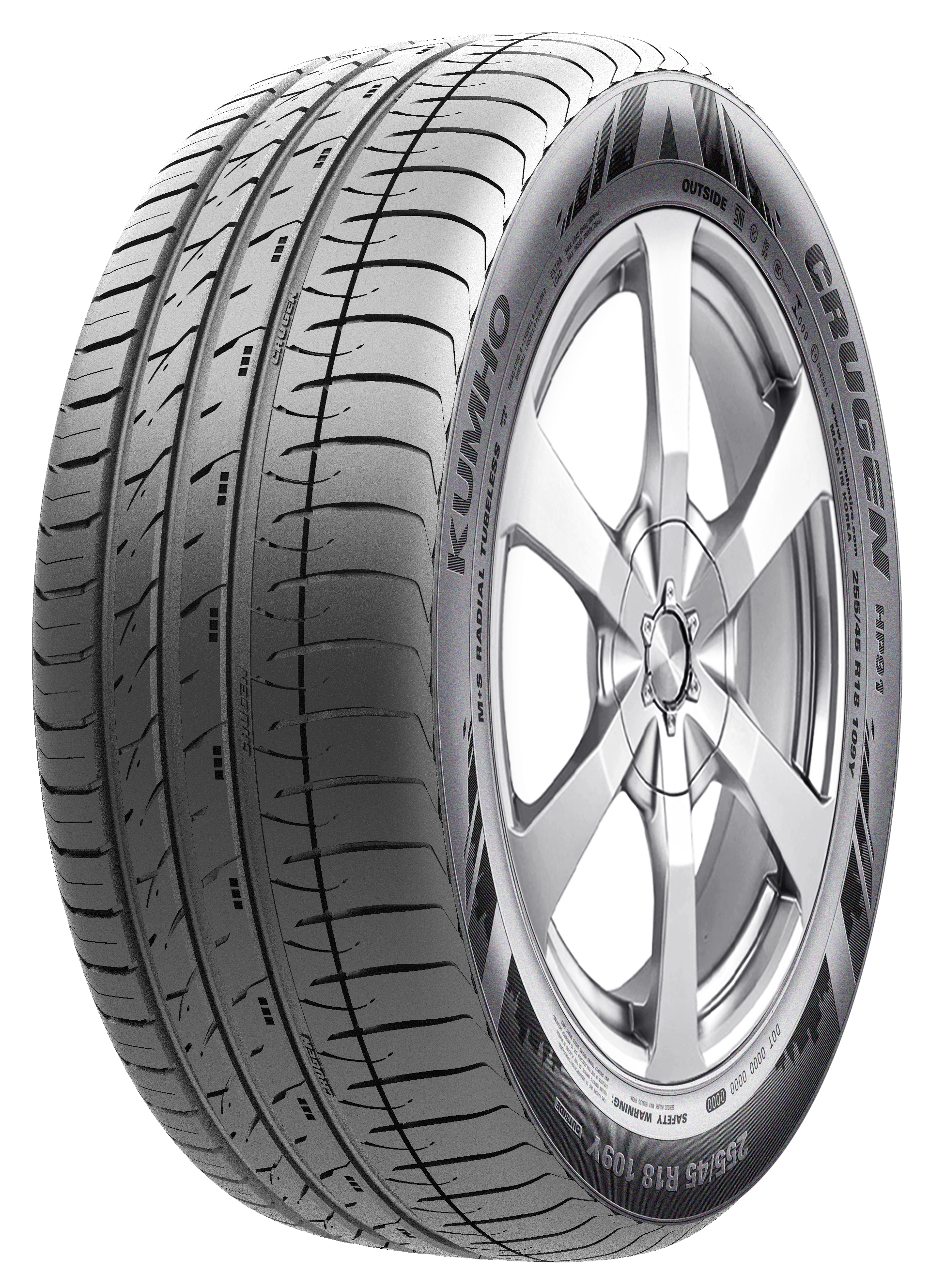 315/35R20 Y HP91 Crugen XL Kumho SI: Y=300 km/h LI: 110=1060kg nyári, off road gumiabroncs