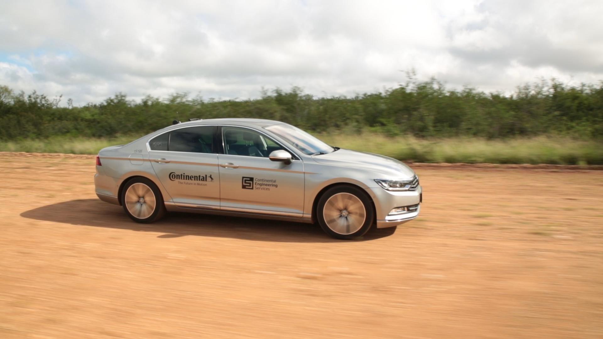 Automatizált járművet vet be a Continental az abroncsok tesztelésére