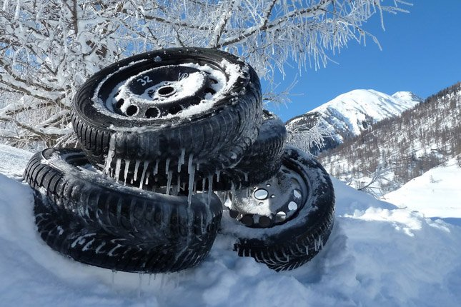 ÖAMTC-Winterreifentest 2012; Foto: ÖAMTC / zur honorarfreien Verwendung
